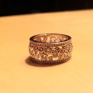 18k Swarovski Band Ring